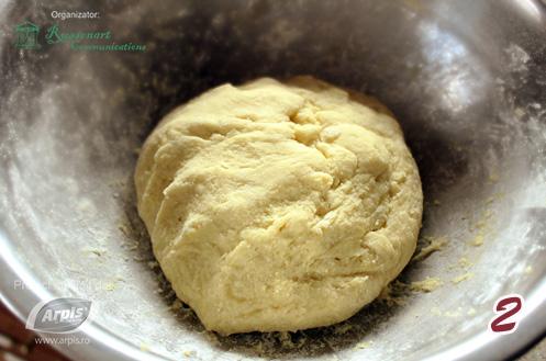 aluat din cartofi pentru prajitura