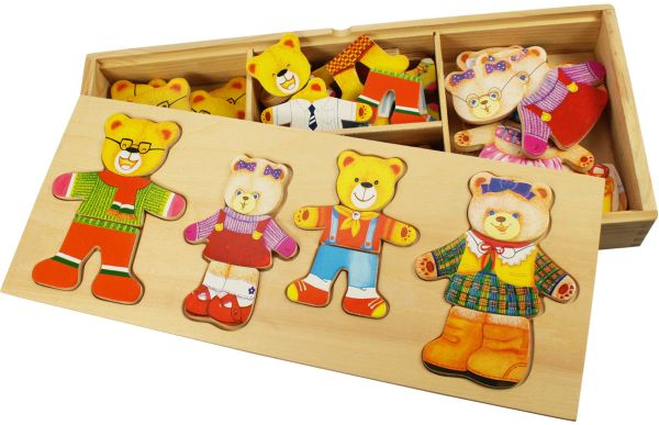 joc-de-potrivire-familia-ursuletilor - educlass.ro