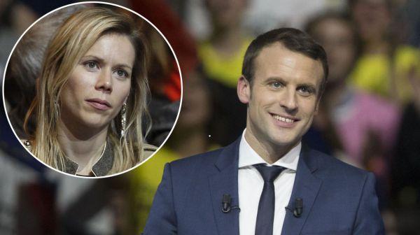 Macron si Tiphaine Auziere